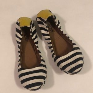 Lucky Brand Womens Shoes Erin Ballet Flats Striped